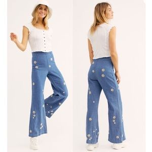 Free People We the Free High Waisted Daisy Jeans